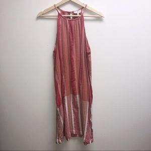 Lou & Grey from Anthropologie XS Pink Tank Dress